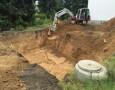 Baubeginn - Ausschachtung AÜS 33