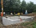 Errichtung Kellermauerwerk AÜS 33