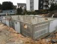 Aufstellung Betonkellerwände Haus 01-02
