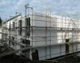 Baufortschritt Obergeschoss Häuser 3+4