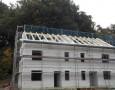 Aufbringung Dachlatten