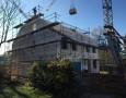 Herstellung Dachstuhl Haus 01-02