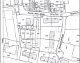 Flurkarte mit vermessenen Hausgrundstücken