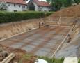 Verlegung Eisenbewährung Häuser 1+2