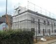 Ansicht Straßenseite Häuser 1 + 2