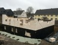Beginn Mauerwerk Erdgeschoss Häuser 7+8